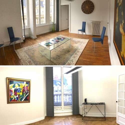 Salle d'attente du cabinet d'Antoine De Runz : chirurgien esthétique à Metz